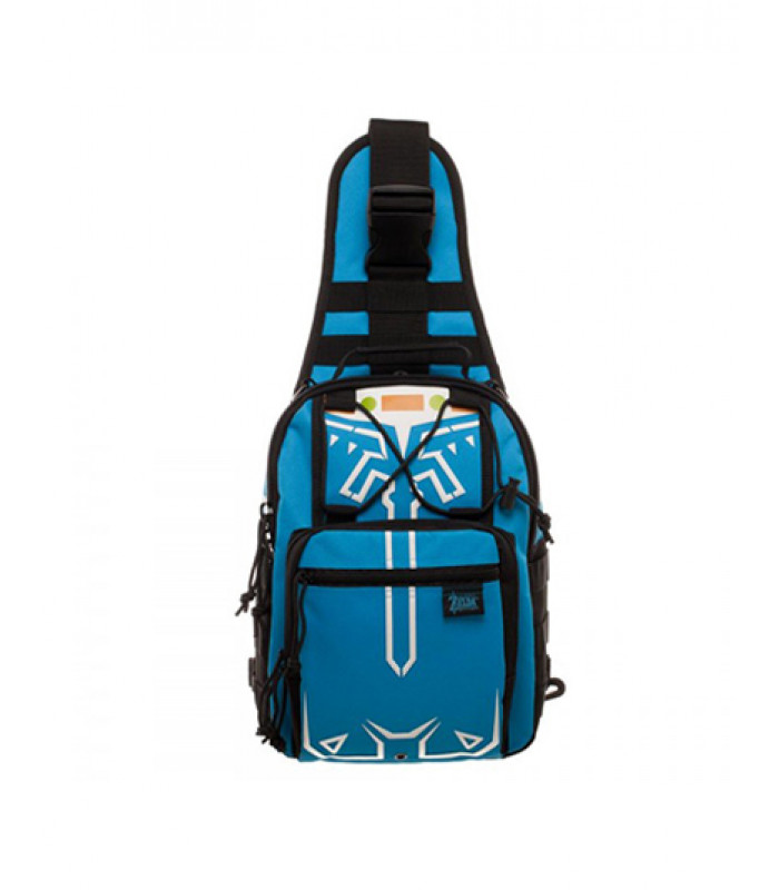 MOCHILA ZELDA BREATH OF THE WILD MINI AZUL fd581a9764cbf