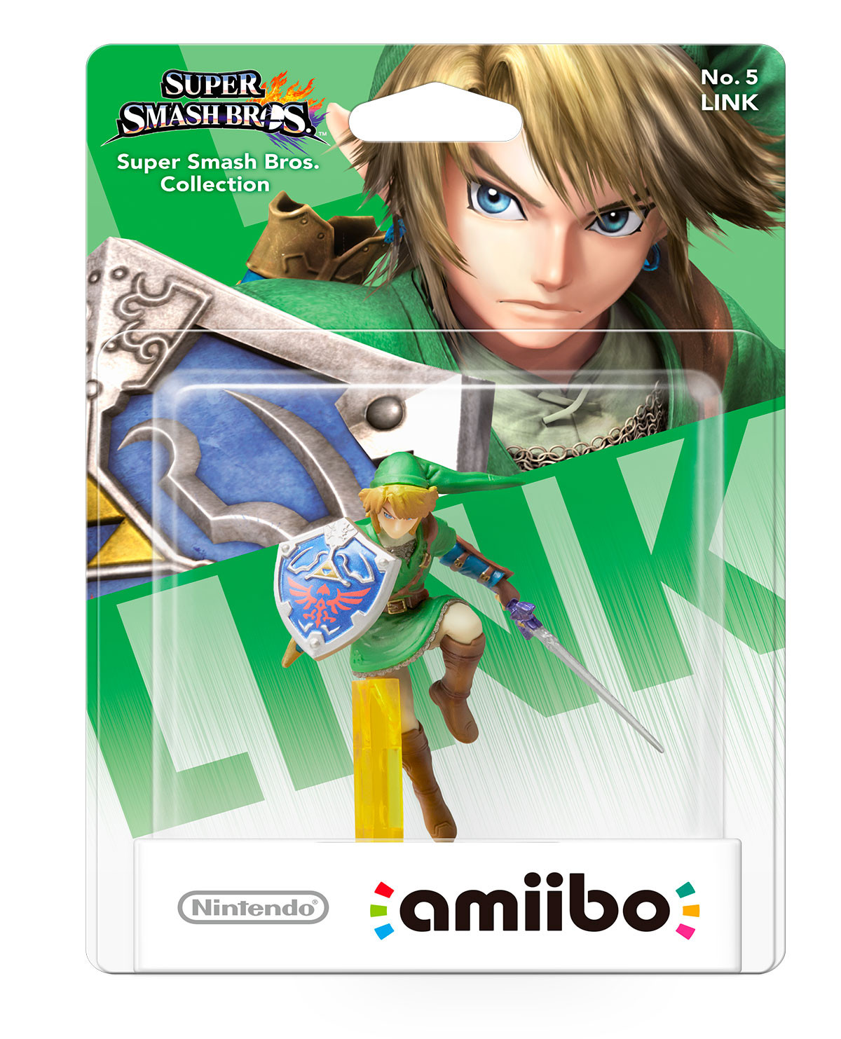 AMIIBO SUPER SMASH BROS LINK