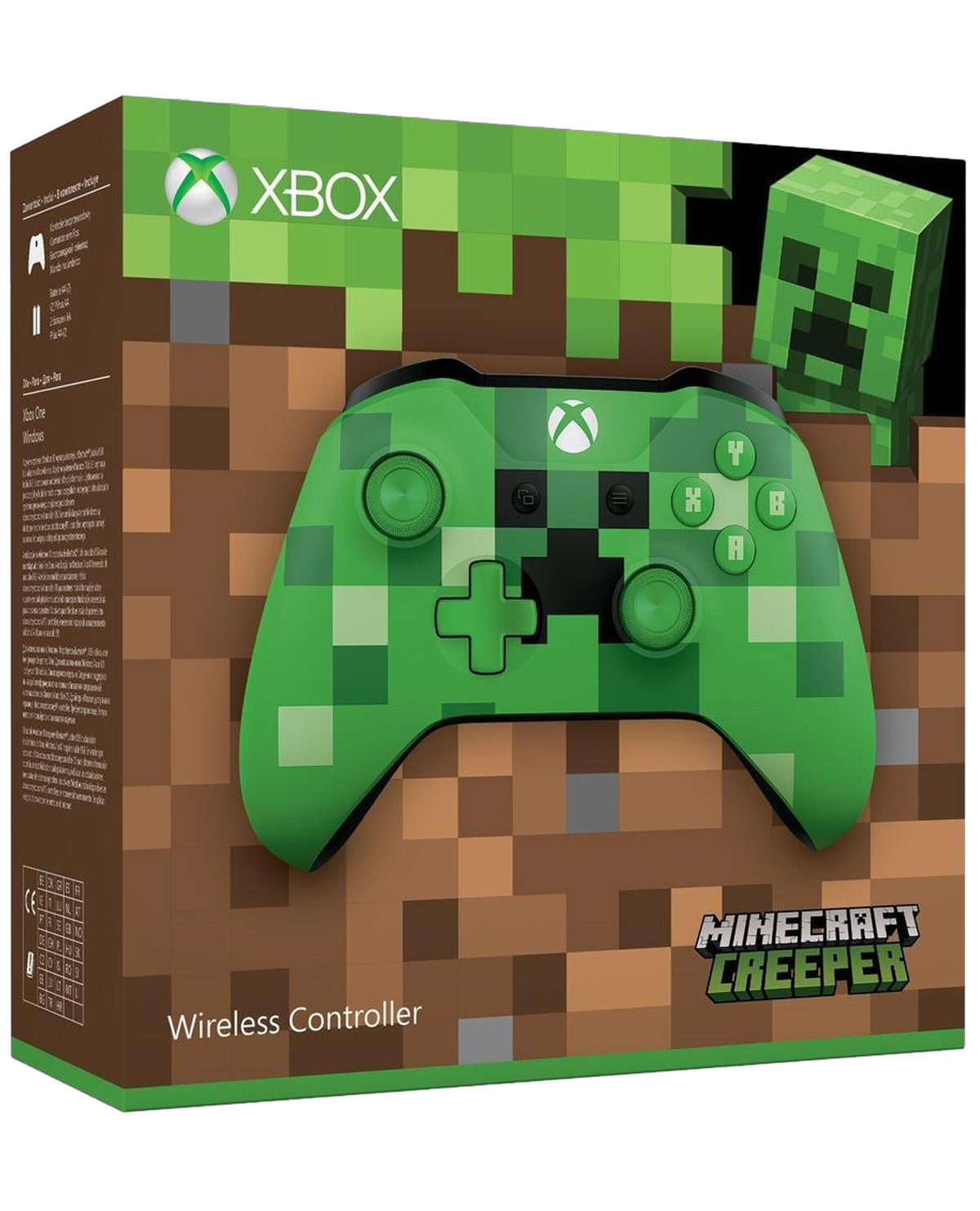 CONTROL XBOX ONE INALAMBRICO MINECRAFT CREEPER para XONE
