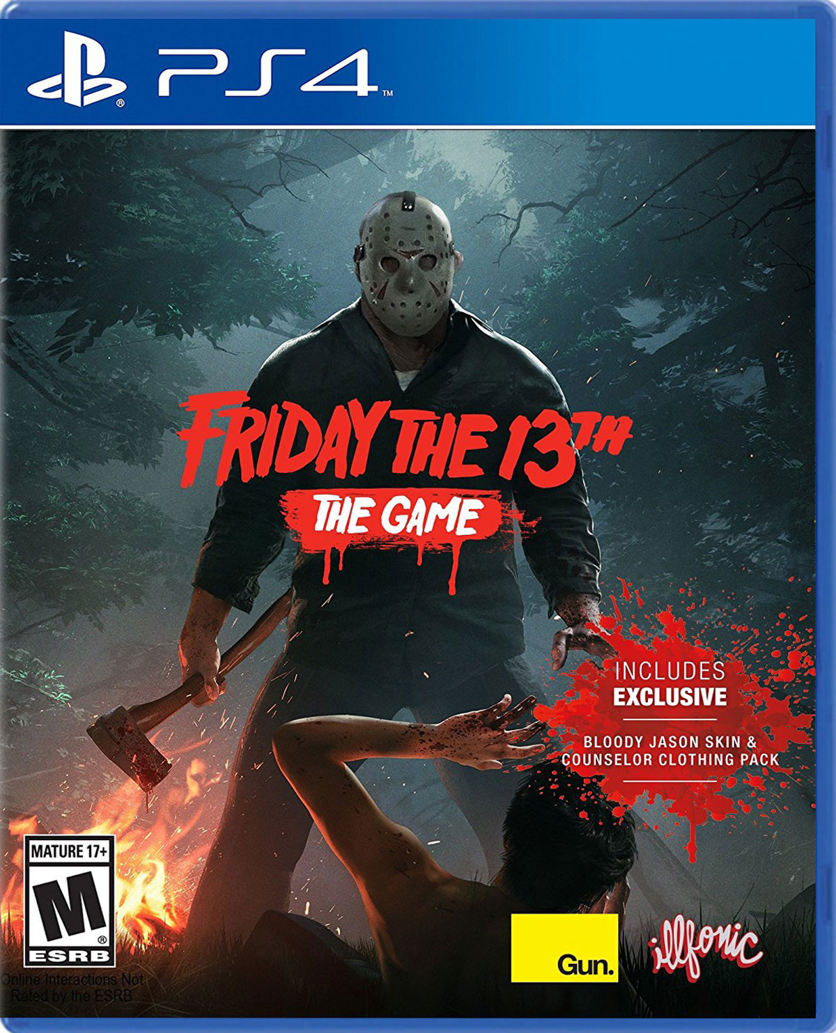 Outlast Trinity Para Ps4 Gameplanet Friday The 13th Game