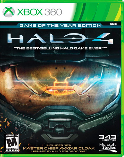HALO 4 GAME OF THE YEAR