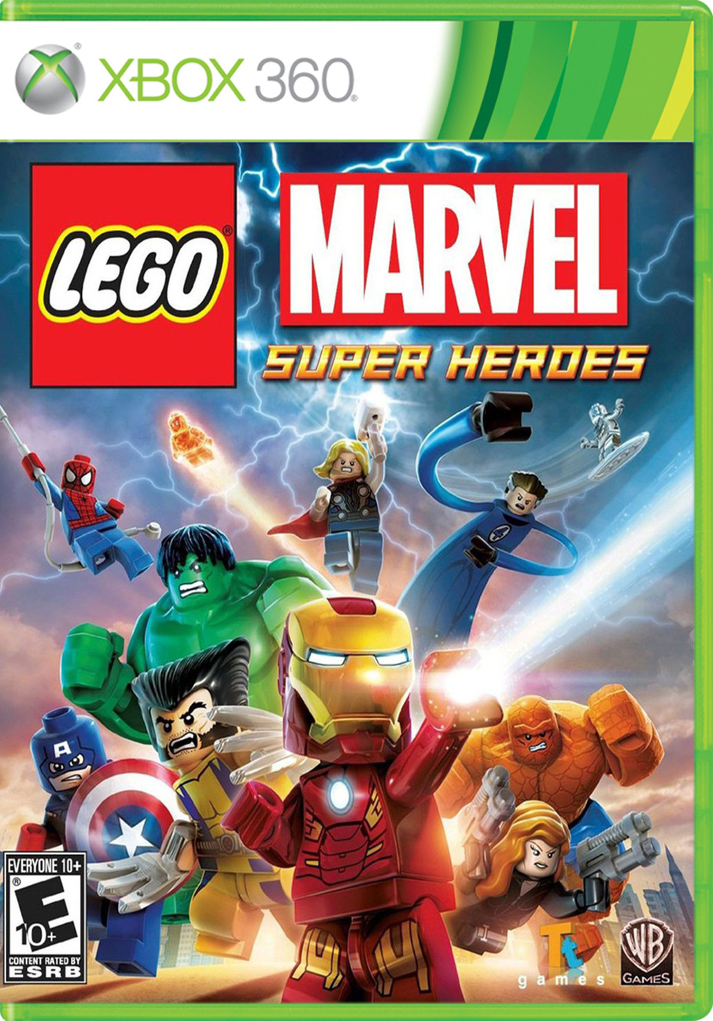 Lego Marvel Super Heroes Para 360 Gameplanet