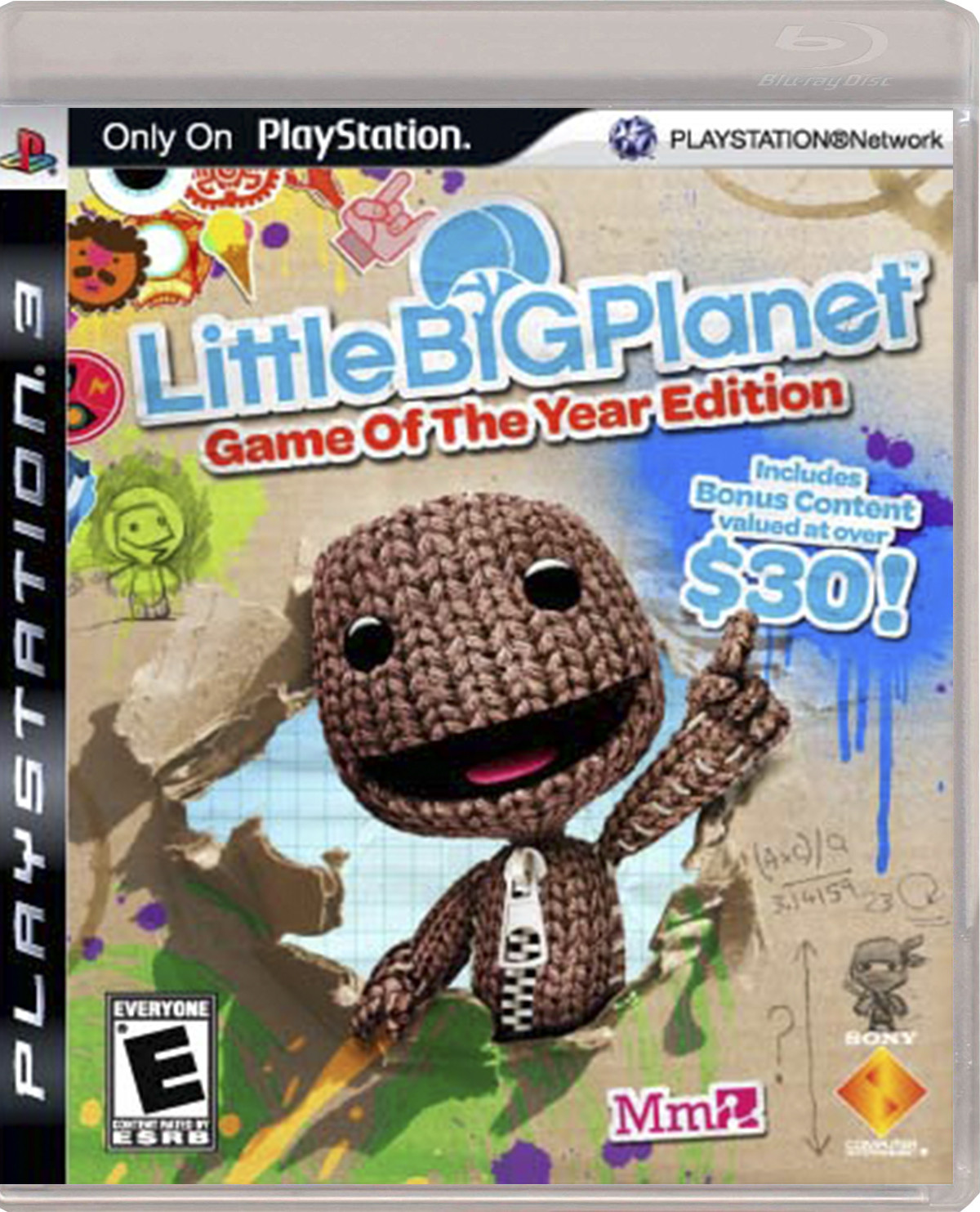LITTLE BIG PLANET GAME OF THE YEAR EDITION.