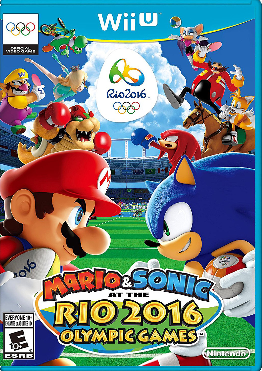 MARIO AND SONIC AT RIO 2016 WIIU