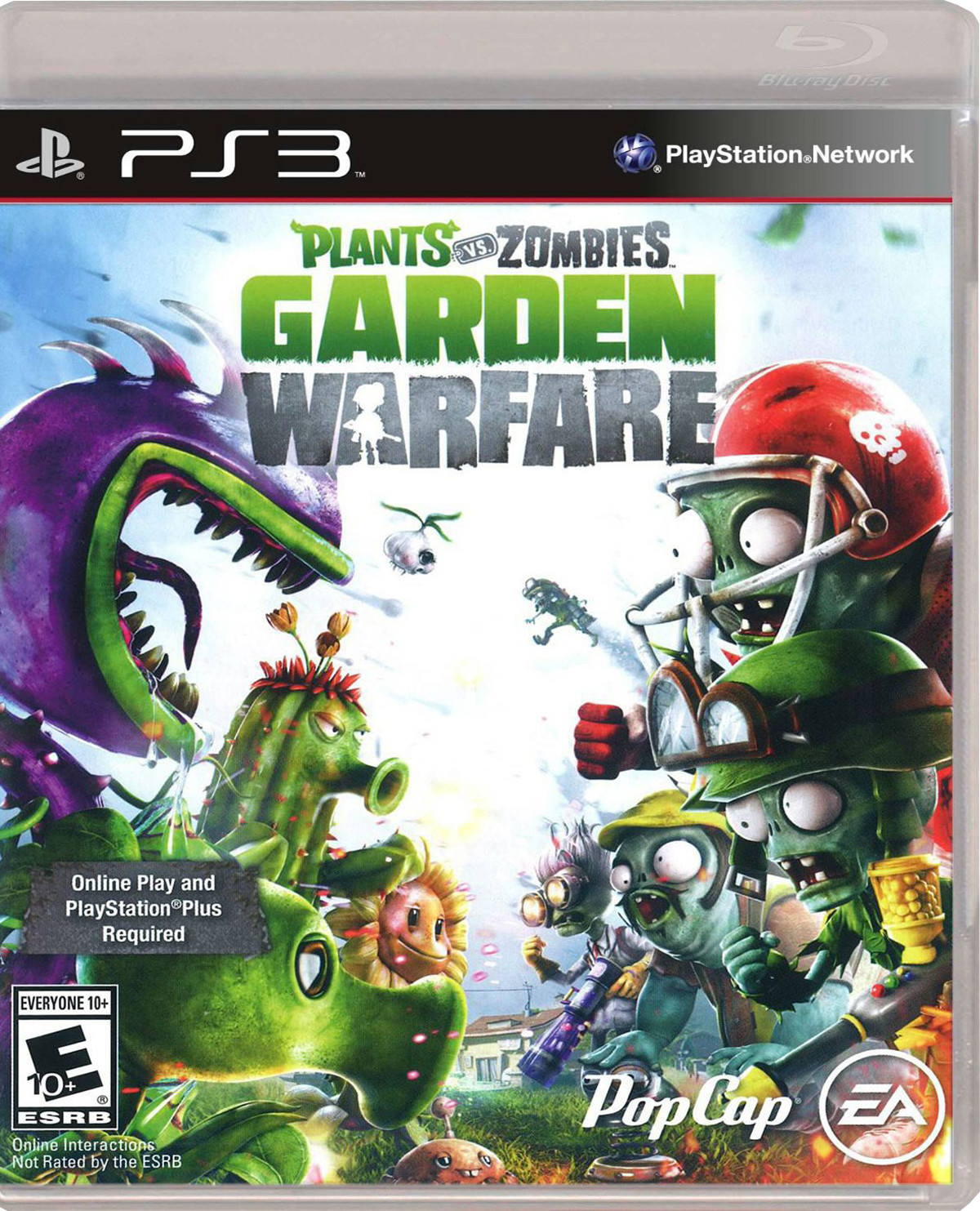Plants Vs Zombies Garden Warfare Para Ps3 Gameplanet
