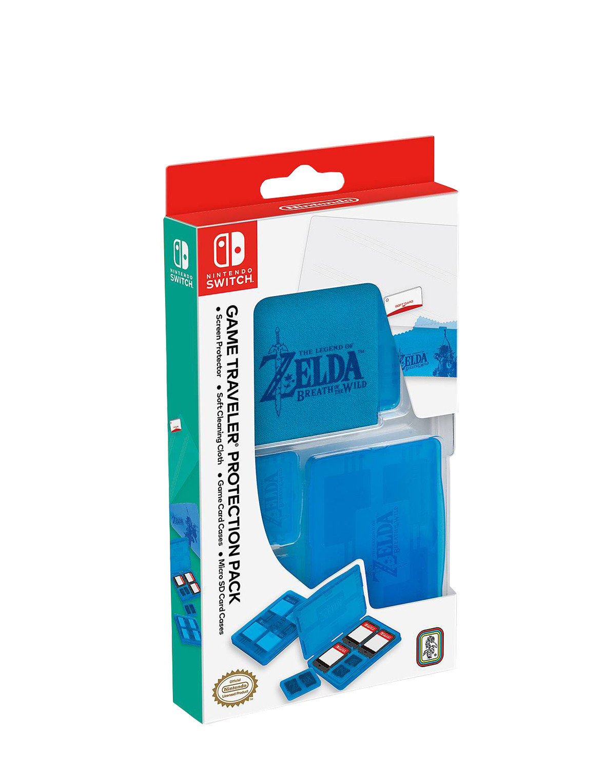 Protector Para Juegos Nintendo Switch The Legend Of Zelda Breath Of