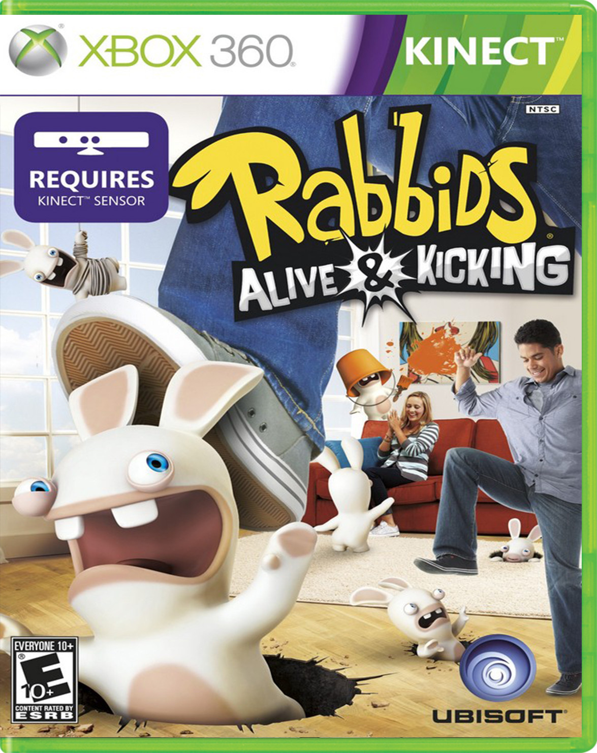 RAVING RABBIDS ALIVE AND KICKING