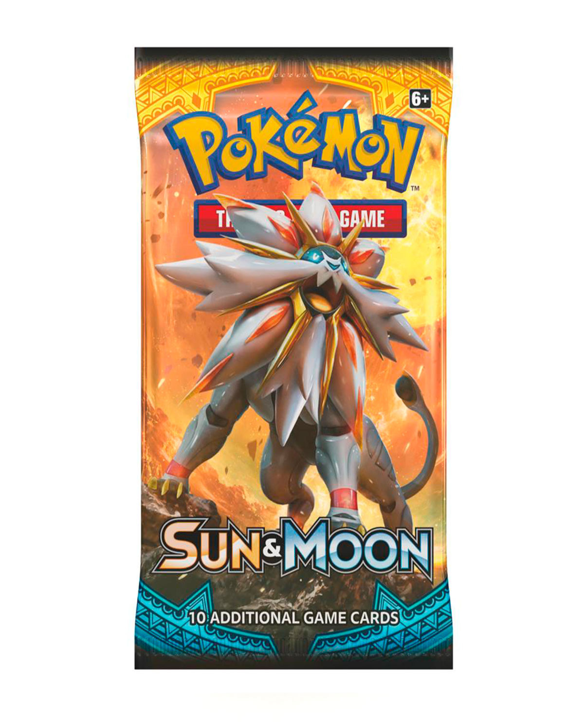 SOBRE POKEMON TRADING CARD GAME SUN AND MOON