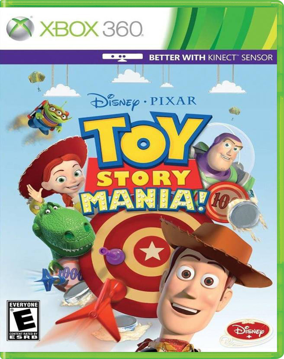 Toy Story Mania Kinect Para 360 Gameplanet