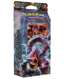 DECK POKEMON TRADING CARD GAME XY STEAM SIEGE VOLCANION