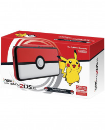 CONSOLA NEW NINTENDO 2DS XL ROJO Y BLANCO EDICION POKEBOLA