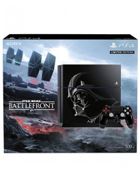 CONSOLA PLAYSTATION 4 NEGRO 500GB EDICION LIMITADA STAR WARS