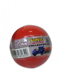 SONIC THE HEDGHOG GACHA BALL CAPSULES PULL BACK RACERS