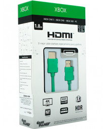 CABLE HDMI 2.0 GP VERDE 1.8 METROS
