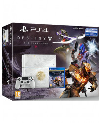 CONSOLA PLAYSTATION 4 BLANCO 500GB DESTINY THE TAKEN KING EDICION LIMITADA