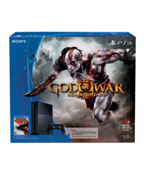 CONSOLA PLAYSTATION 4 NEGRO 500GB GOD OF WAR III REMASTERED