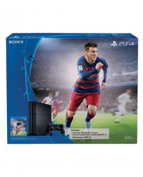 CONSOLA PLAYSTATION 4 NEGRO 500GB FIFA 16