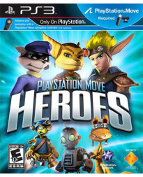 PLAYSTATION HEROES MOVE