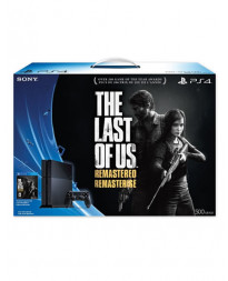 CONSOLA PLAYSTATION 4 NEGRO 500GB THE LAST OF US REMASTERED