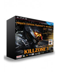 CONSOLA PLAYSTATION 3 SLIM NEGRO 160GB KILLZONE 3