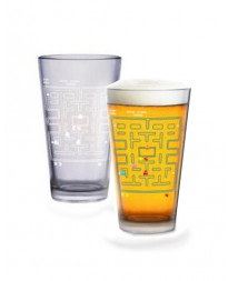 PAC MAN COLD SENSITIVE PINT GLASS