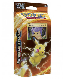 DECK POKEMON TRADING CARD GAME XY EVOLUTIONS PIKACHU