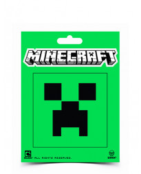 MINECRAFT CREEPER FACE STICKER