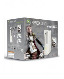 CONSOLA XBOX 360 SUPER ELITE BLANCO CON FINAL FANTASY XIII Y 2 CONTROLES