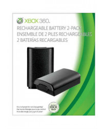 XBOX 360 RECHARGABLE BATTERY 2 PACK 360