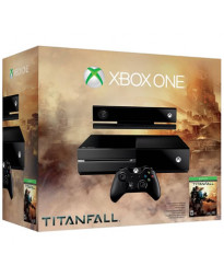 CONSOLA XBOX ONE NEGRO 500GB CON KINECT Y TITANFALL
