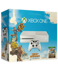 CONSOLA XBOX ONE BLANCO 500GB CON SUNSET OVERDRIVE