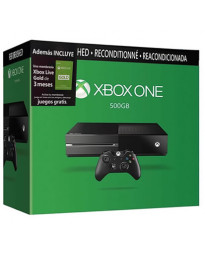 CONSOLA XBOX ONE CON KINECT Y TARJETA GOLD LIVE 3 MESES REFURBISHED