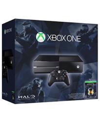 CONSOLA XBOX ONE NEGRO 500GB CON HALO THE MASTER CHIEF COLLECTION