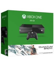 CONSOLA XBOX ONE NEGRO CON 500 GB Y QUANTUM BREAK