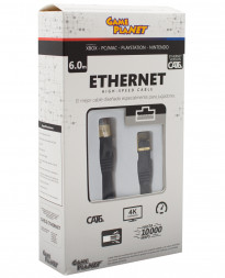 CABLE ETHERNET CAT6A GP NEGRO 6 METROS