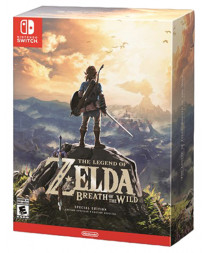 THE LEGEND OF ZELDA BREATH OF THE WILD SPECIAL EDITION