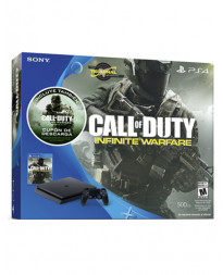 CONSOLA PLAYSTATION 4 SLIM 500GB NEGRO CALL OF DUTY INFINITE WARFARE BUNDLE
