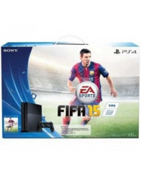 CONSOLA PLAYSTATION 4 NEGRO 500GB FIFA 15