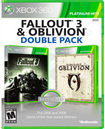 FALLOUT 3 AND OBLIVION DOUBLE PACK
