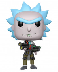 FIGURA POP RICK AND MORTY WEAPONIZED RICK