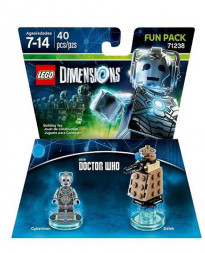 LEGO DIMENSIONS PAQUETE DE DIVERSION DR WHO CYBERMAN
