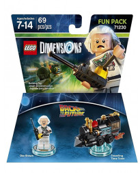 LEGO DIMENSIONS PAQUETE DE DIVERSION VOLVER AL FUTURO DOC BROWN