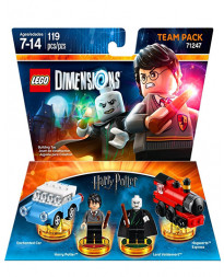 LEGO DIMENSIONS PAQUETE DE EQUIPO HARRY POTTER