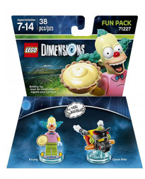 LEGO DIMENSIONS PAQUETE DE DIVERSION LOS SIMPSONS KRUSTY