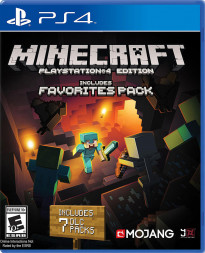 MINECRAFT FAVORITES PACK