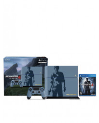 CONSOLA PLAYSTATION 4 GRIS 500GB EDICION LIMITADA UNCHARTED 4