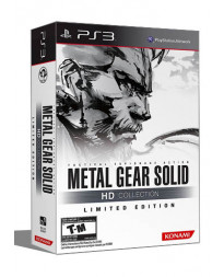 METAL GEAR SOLID HD COLLECTION LIMITED EDITION