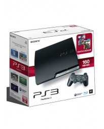 CONSOLA PLAYSTATION 3 SLIM NEGRO 160GB SOCOM PRO EVOLUTION SOCCER 2011