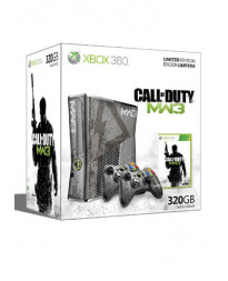 CONSOLA XBOX 360 SLIM EDICION ESPECIAL CALL OF DUTY MODERN WARFARE 3