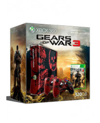 CONSOLA XBOX 360 SLIM CON GEARS OF WAR 3